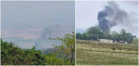 【ミャンマー】カチン独立軍、カチン州のモーマウ近郊で国軍ヘリ撃墜 空爆に反撃