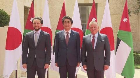 安倍首相ヨルダン国王