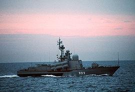 タランタルⅢ級ミサイル護衛哨戒艇