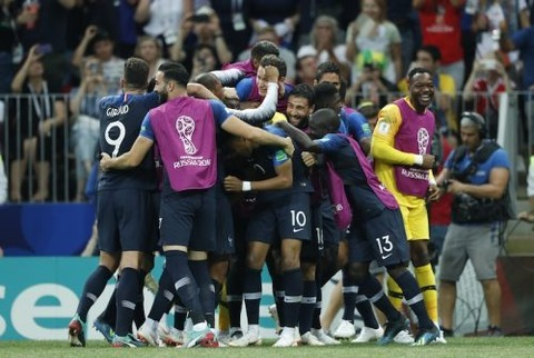 【サッカー】フランスが優勝!!クロアチアが準優勝! 2018FIFAワールドカップ ロシア大会