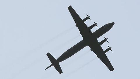 【日露】日本の航空自衛隊がロシアIl-38機の随伴に緊急発進