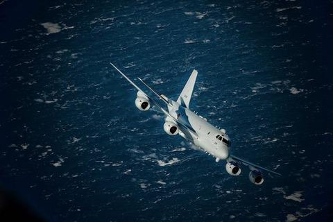 【韓国を煽るw】海上自衛隊の年末挨拶が話題に! ネット「ここでP-1を出すセンス」「これは強烈なメッセージですね」「自衛隊は日本の誇り」