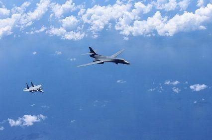 日米空軍訓練