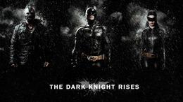 b the dark knight rises