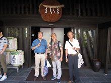 諏訪五蔵「真澄」の三人