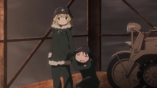 少女終末旅行 第3話『遭遇/都市/街灯』