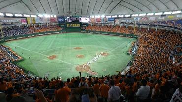 試合終了後の東京ドーム