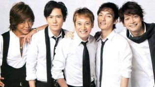 SMAPの5人たち