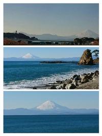 立石海岸&Donから見える富士山