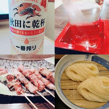 秋田の地酒と食