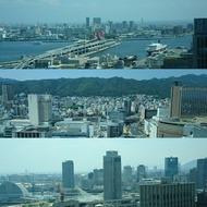 神戸・三宮の風景