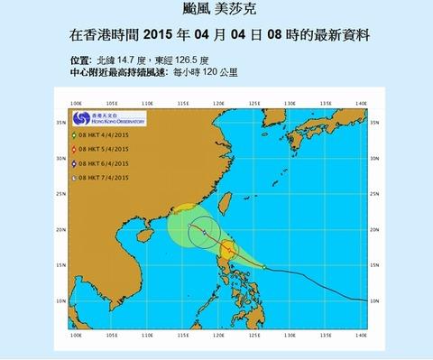 台風 美沙克