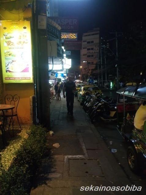 バンコクの歩道事情