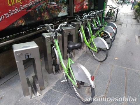 バンコクの貸自転車システム