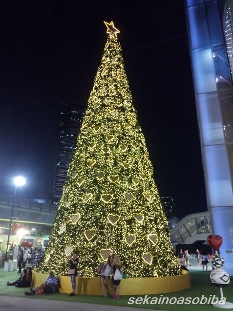 MBKのクリスマスツリー