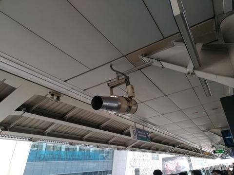 サイアム駅のバズーカ砲