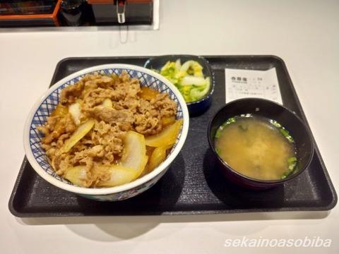 羽田空港の吉野家