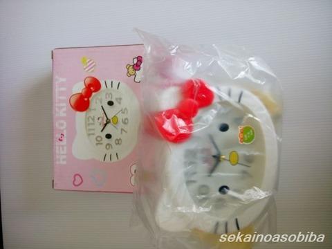 キティちゃん時計