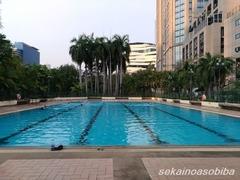 ベンジャシリ公園のプール