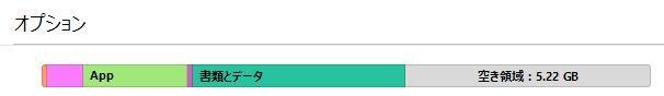 iTunes空き容量