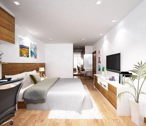 新築サービスアパートオープン「Prommitr Suites」
