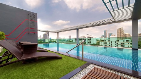 Rooftop - Swimming Pool