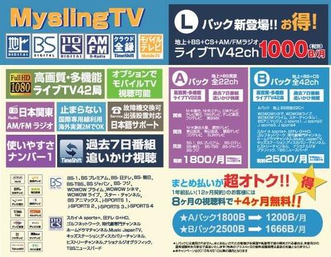 弊社お勧め日本のテレビ業者