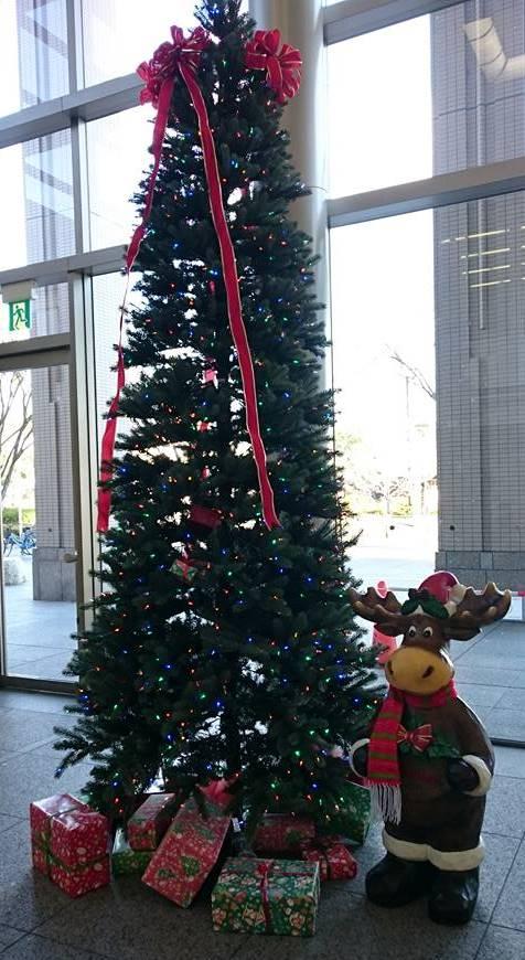 クリスマスツリー、キックスにて