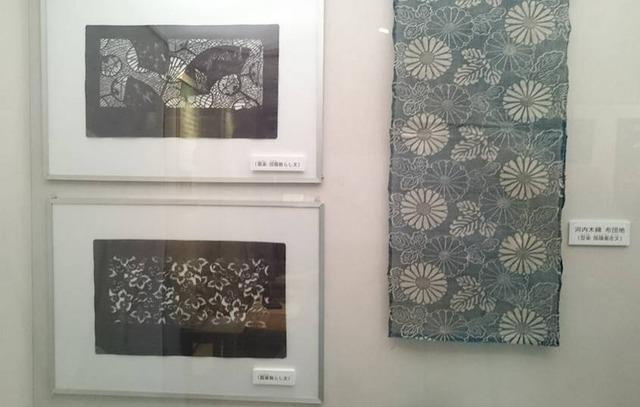 紺屋型紙、6月の常設展示