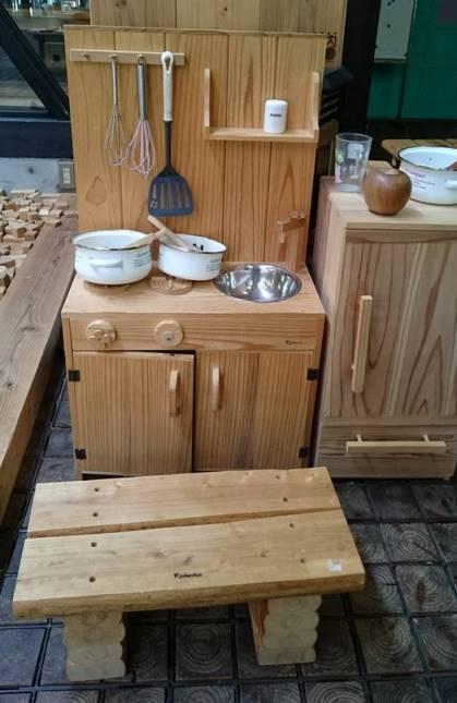 木のままごとキッチン