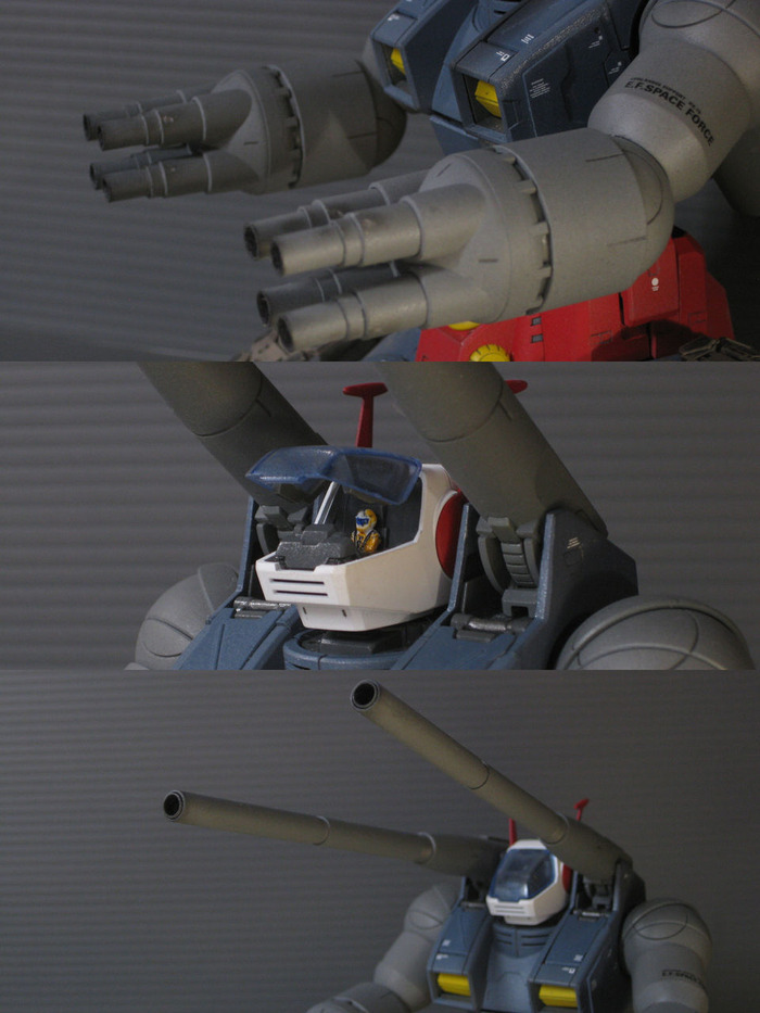 MG RX-75 GUNTANK その5