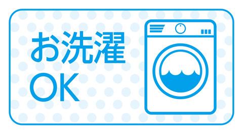 お洗濯OK
