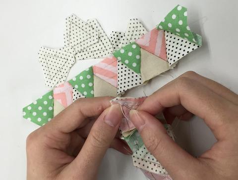 パターンスタンプ正三角形