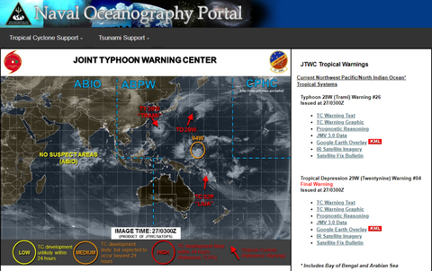2018Joint Typhoon Warning Center  JTWC