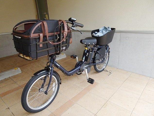 犬 自転車 カゴ