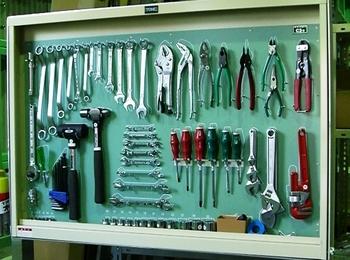 工具整理板