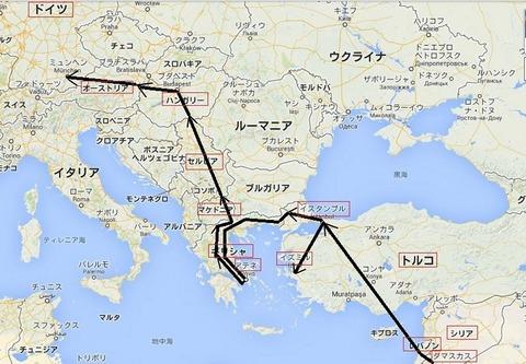 難民ルート