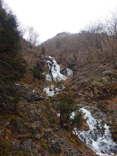 九兵衛谷の氷瀑