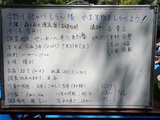 吉野川紀の川しらべ隊水生生物をしらべよう速報...