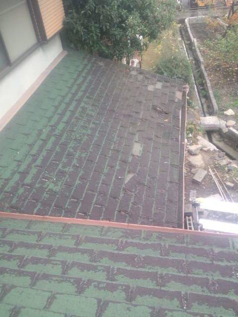 鋼板屋根材 カレッセ かぶせる手法