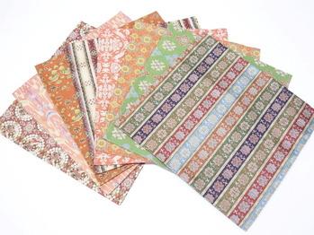 名物裂袱紗、龍村美術織物