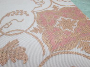 蔓花文絽綴袋帯 銀座きしや扱