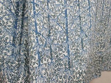 藍染 裾アップ1