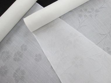 紋紗麻襦袢地