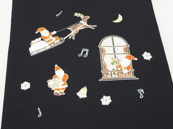 クリスマス模様名古屋帯