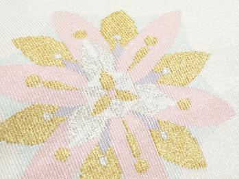 花模様爪掻綴八寸名古屋帯
