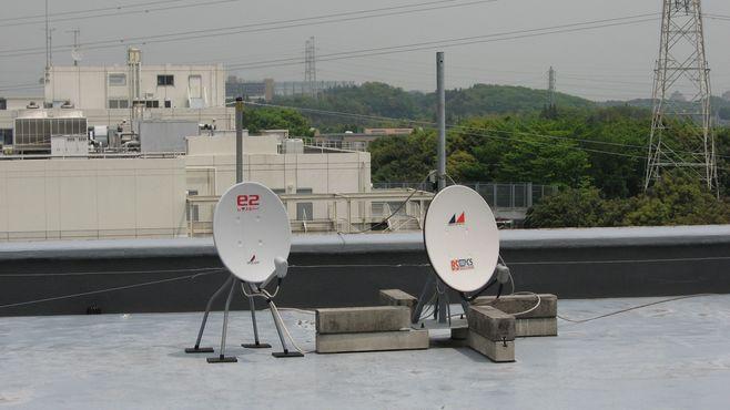 道ばたの景色 : マンションの屋上にアンテナ設置 - livedoor Blog ...