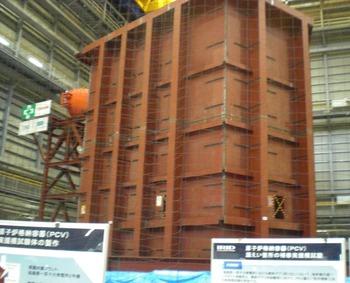 福島第1原発構内を視察しました。