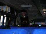 バスのビデオ撮影