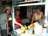 キト国境の町の美人売り子